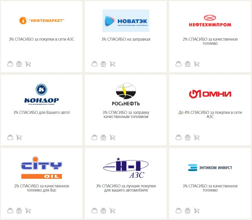 46c6cca2fbdeb Партнеры программы Спасибо от Сбербанка - актуальный список ...